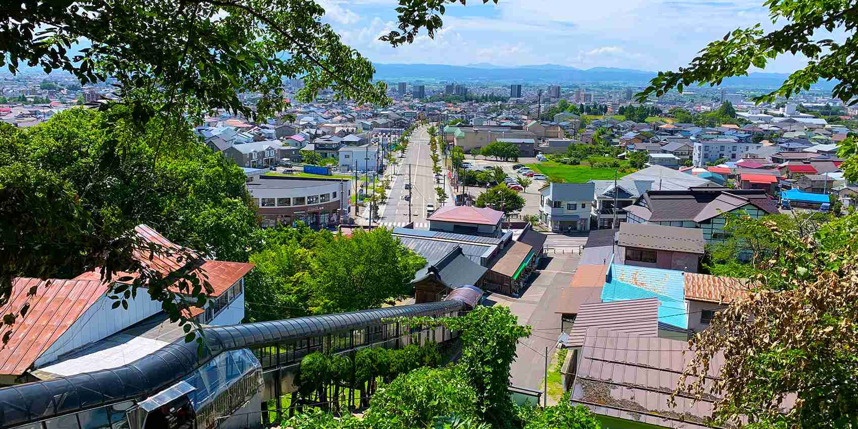 飯盛山からの風景