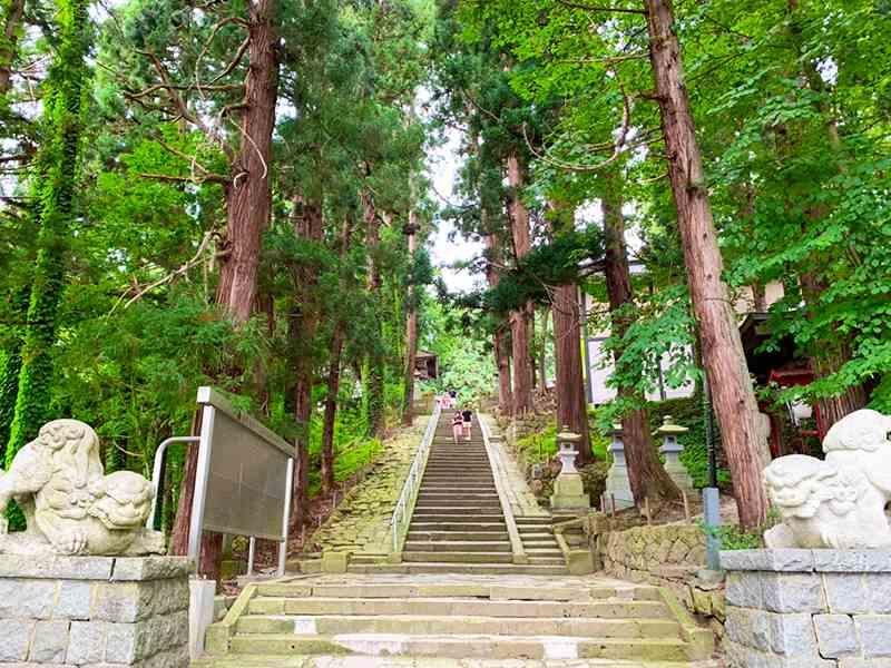 熊野大社階段