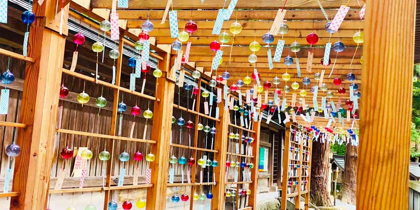 熊野大社の風鈴