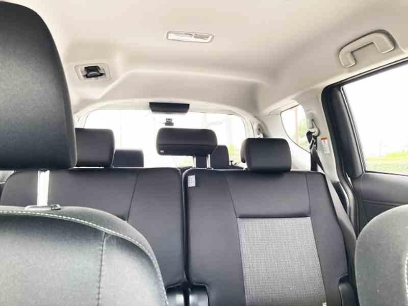 広い車内空間